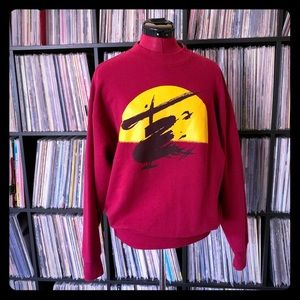 80s 90s Miss Saigon Crew Neck Sweater L Vintage 🌟